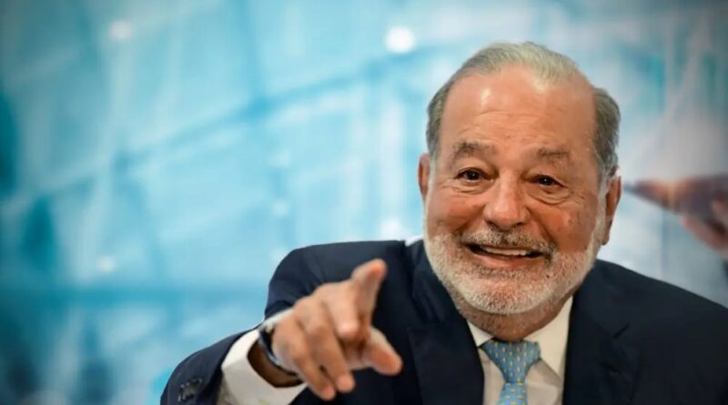 Magnate Carlos Slim padece covid-19